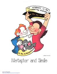 Simile Anchor Chart Metaphor And Simile Anchor Chart Classroom Freebies