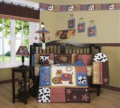 geenny western horse cowboy crib bedding set baby nursery spin prod themed ideas sets girl little