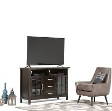 United Furniture Warehouse Kitchener Amazoncom Simpli Home Kitchener Tall Tv Media Stand For Tvs Up