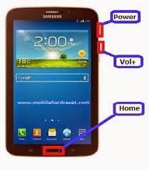 samsung galaxy tab logo. step 4: saat muncul logo samsung, atau terkadang hanya android icon, lepas tekanan anda pada tiga tombol tadi. samsung galaxy tab
