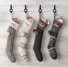 40 Christmas Stockings And Ideas To Use Them For Dcor Digsdigs High End  Christmas Stockings High