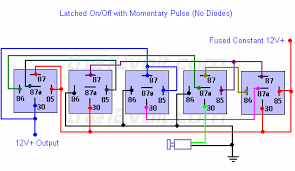 special applications spdt relays latched on off output using a single momentary pulse