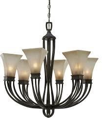 golden lighting chandelier. golden lighting 18506rt genesis roan timber chandelier loading zoom