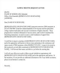 Business Request Letter Format Business Meeting Request Letter