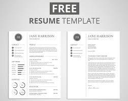 Modern Cv Word Resume Templates Unique Modern Templatee Word Cv Download Document