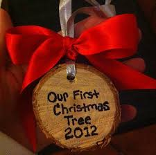 Amazoncom Our First Christmas As Mr And Mrs Tree Ornament Our First Christmas Tree