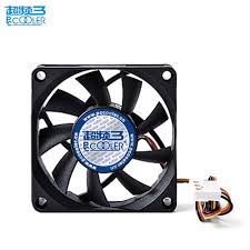 computer case fan. pccooler 7cm computer case fan quiet ultra-thin 15mm amd cpu cooler 70mm