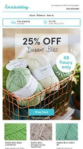 25 Off Debbie Bliss For Only 48 Hours Act Now