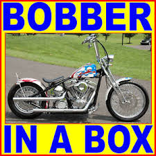 acm rigid bobber chopper complete motorcycle chassis bike in a box