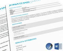 Mid Entry Cv Templates : Cv And Cover Letter Template 107Docx