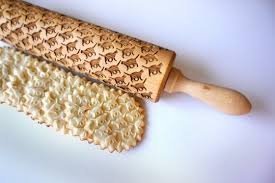 Patterned Rolling Pin Amazing Animal Patterned Rolling Pins SA Décor Design