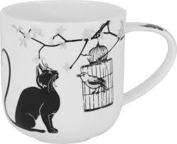 """Отзывы на <b>Кружка</b> Carmani <b>Crazy Cats</b> """"Кошка и птичка"""", CAR2 ..."""