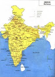 maps of indian railway route beaches