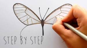 Step By Step How To Draw And Color A Butterfly With Colored Pencils Emmy Kalia