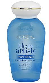 l oreal paris clean artiste eye makeup remover 4 fl oz