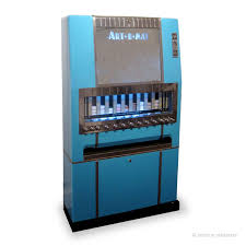 Cigarette Vending Machine Art Simple ArtOMat Takes Over Byebye Cigarette Machines