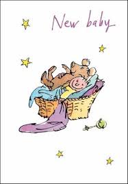 Baby Congratulations Card Quentin Blake New Baby Congratulations Greeting Card