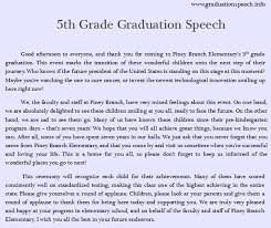 what are some good topics for a graduation speech for th graders  also john kuo s answer to what are some good topics for a graduation speech for 5th graders is awesome