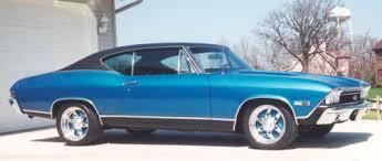 1968 Chevelle Paint Codes