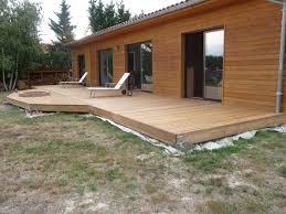 Plots Beton Pour Terrasse Idees Decoration Interieure Plot Castorama Design  Seduisant Patio Cour Couvert Sur Des