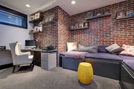 office wall design. Brick Veneer Is A Great Idea When You Don\u0027t Have Exposed Walls Office Wall Design