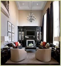 decorating a large rectangular living
