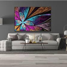 Tableau Papillon Moderne Coloré - DECO-PROMO.COM
