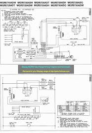 wiring diagrams and schematics appliantology tag mgr57 gas range wiring diagram and schematic