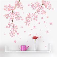 pink cherry blossom romantic garden