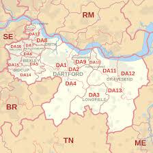 Image result for map of Falconwood, SE9, DA16