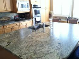 Granite Kitchen Tops Colours Granite Countertop Colors Oak Cabinets