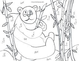 Mystery Pictures Coloring Pages Basic Multiplication Worksheet ...