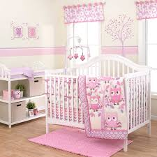 belle dancing owls baby bedding collection