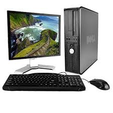 dell optiplex desktop dual core 2 0ghz 4gb 80gb dvd genuine computer bundle computer package computer intel desktop computers intel core2duo computer port dell computers monitor models 17 monitor