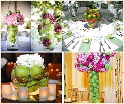 Amazing Green Wedding Centerpieces Green Apple Wedding Ideas And  Inspirations Budget Brides Guide