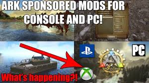 ark classic flyers mod not working in singleplayer ark sponsored mods for xbox ps4 pc what is happening where are