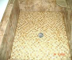 concrete shower floor best floors tile diy