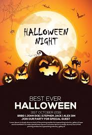 Halloween Dance Flyer Templates Pin By Flyersonar On Free Psd Flyer Templates Halloween