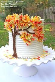 Cake Decorator Resume Impressive Free Autumn Leaves In Chocolate Cake Tutorial So Pretty Cakes