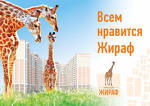 Жираф  в доме 122