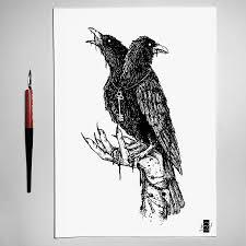 эскиз татуировки черно белые 41321 тату салон дом элит тату