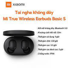 Tai nghe không dây xiaomi Earbuds Basic S True Wireless chính hãng
