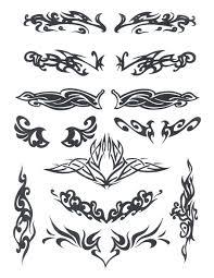 всевозможные узоры If Endif галерея татуировки