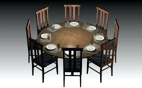 dining room table size for 10 beautiful ideas 6 person round dining table pretentious idea 8