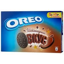 «<b>Печенье OREO шоколадный вкус</b>» — Продукты, напитки ...