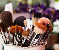 beauty tools cleaning process