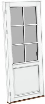 Balkontür Nach Außen öffnend Schüco Kammergetriebe Für Aluminium