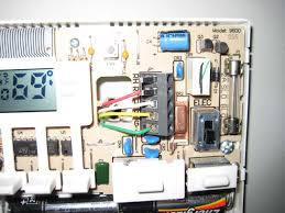 replacing thermostat heating and air conditioning handyman Robert Shaw Thermostat Wiring Diagram www techav com pics thermostat1 jpg robert shaw thermostat wiring diagram