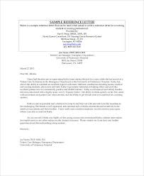 letter of recommendation template for nursing student sample nursing recommendation letter 9 examples in word pdf