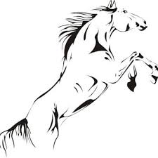 fashion pvc material wall paper jumping horse wall art stickers vinyl decal stylish home graphics lounge  on horse wall art decal with fashion pvc material wall paper jumping horse wall art stickers